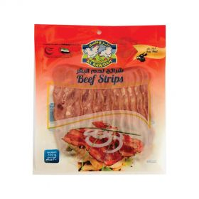 Al Rawdah Beef Strips Sliced 200g