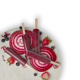 Beetroot Berry Ice Pops