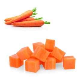 Carrot Cubed 15 x 15mm