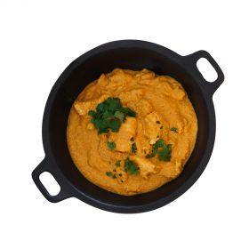 Chicken Mughlai with steamed rice 500g (Boneless)