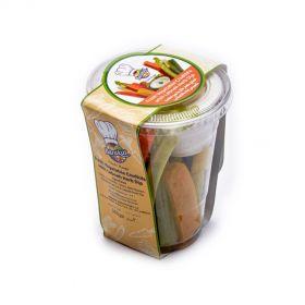 Vegetable Crudités With Labneh Herb Dip