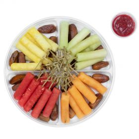 Fruit Platter Premium with Raspberry Dip 850g