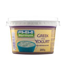 Marmum Greek Style Natural Yogurt 200g