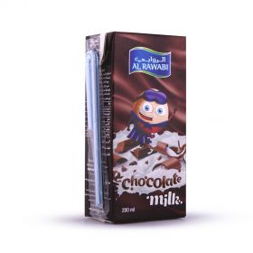 Al Rawabi Chocolate Milk Long Life 200mlx6