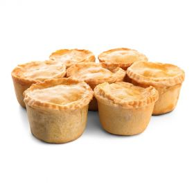 Assorted Chicken & Beef Pies -12pcs