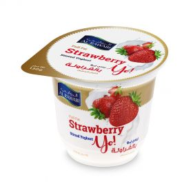 Al Rawabi Yoghurt Strawberry 130g