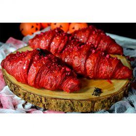 Raspberry Croissant 4Pcs