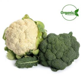 Baby Broccoli/cauliflower Organic Twin pack  350g