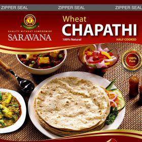 Saravana Wheat Chapati