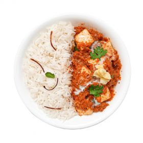 Paneer Makhani with Steamed Rice 500g