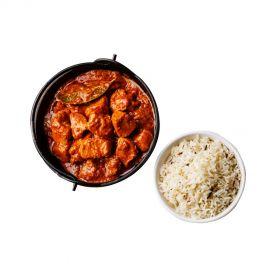 Chicken Tikka Masala with rice 500g (Boneless)