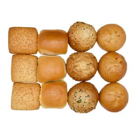 Assorted Bread (Lunch / Dinner) Box 1 (12 Pieces)