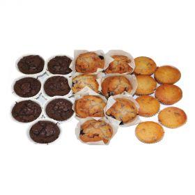 Assorted treats (Breakfast / Tea) Box 1 (21 Pieces)