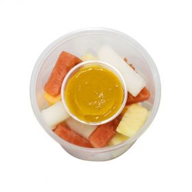 Fruit Chunks with Turmeric Dip 400g