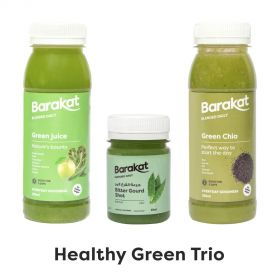 Healthy Green Trio