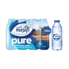 Masafi Low Sodium Natural Water 330ml x 12