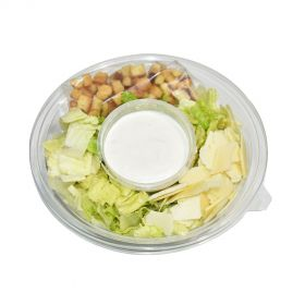 Romaine Heart with Caesar Dressing Croutons