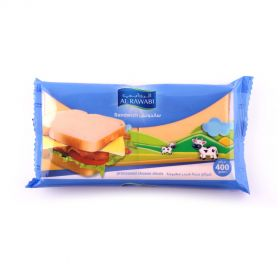 Al Rawabi Sandwich Slice Cheese 400g