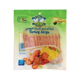 Al Rawdah Turkey Strips Sliced 200g