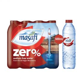 Masafi Zero Sodium Water 500ml x 12