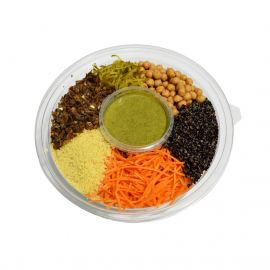 Mediterranean Salad with Cous Cous and Oregano Dressing 1.2kg