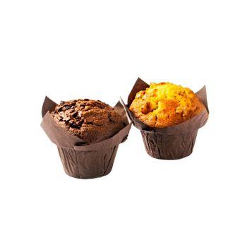 Assorted Muffins (Chocolate, Banana & Walnut) 260g