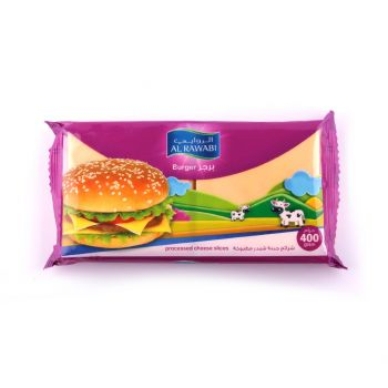 Al Rawabi Burger Slice Cheese 400g