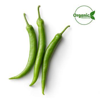 Chilly Green Organic 250g
