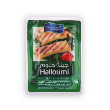 Al Rawabi Halloumi Cheese Full Fat 250g