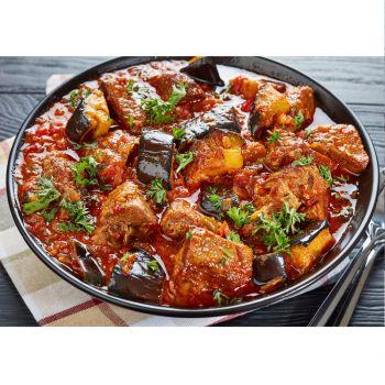 Lamb and Eggplant Stew with Rice (Boneless) 500g