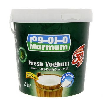 Marmum Yogurt Full Fat 2 Kg