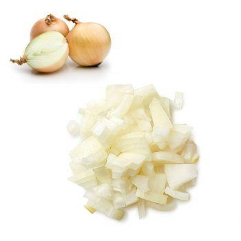 Onion Brown Chopped/Diced 250g