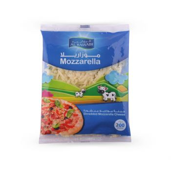 Al Rawabi Shredded Mozzarella Cheese 200g