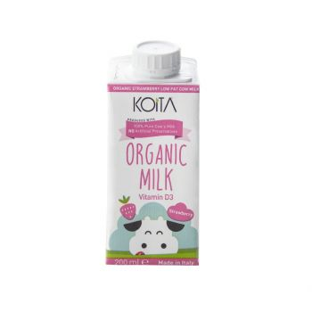 Koita Organic Milk Strawberry 200ml