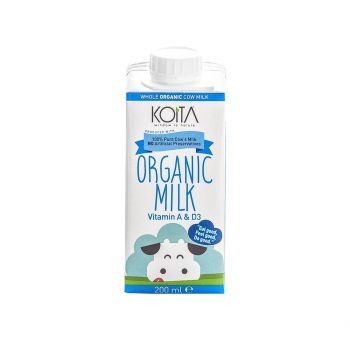 Koita Organic Milk Whole 200 ml