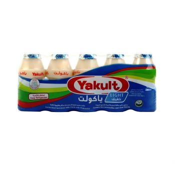 Yakult Light Probiotic Drink (80ml x 5)