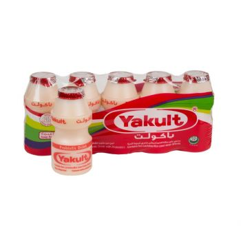 Yakult Regular Probiotic Drinks (80ml x 5)